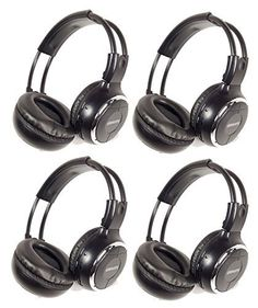 e94af442819a Gravity GR50WH4-Pack Single Channel Universal IR Infrared Wireless Foldable  In-Car Headphone for TV Video Audio Listening For Sale