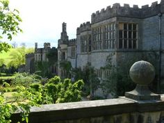 Haddon Hall, Yorkshire - used for Jane Eyre filming