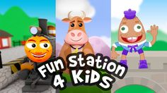 Fun Station For Kids - Channel Trailer - Where Learning is FUN!