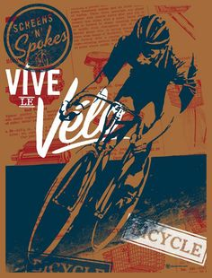 Vive le Velo 2010 Bicycle Art Print