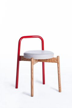Ark Stool by Can Guvenir, via Behance Modern & simple