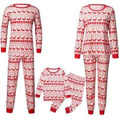 Valentine Girl Letter Brown Cotton Boys-Girls Sleepwear Pajama 2 Pcs Set