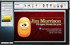 Marc sylvester mrlaughingbird on pinterest modify high quality business card and logo templates with laughingbird softwares business card creator for mac and windows reheart Choice Image