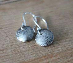 Hopeiset korvakorut, Hopeatyöt, Hopekorut, Handmade Jewelry, Silver Jewelry, Silver Earrings
