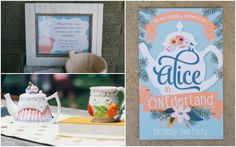 """Alice in Onederland"" - great theme for a first birthday!"