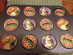 Teenage Mutant Ninja Turtle cupcakes Quiche Muffins, Breakfast Quiche, Breakfast Dishes, Clean Eating Breakfast, Paleo Breakfast, Breakfast Recipes, Dairy Free Recipes, Paleo Recipes, Paleo Food