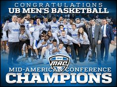 UBuffalo Basketball MAC Champions