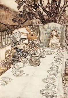 The mad-hatters tea party