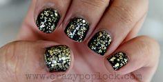 Loreal - Flaming Sunset (Glitter Nails)
