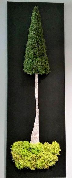 Tableau Végétal Stabilisé 90 x 30 cm (cadre mur décoration végétale) Decoration, Plant Hanger, Plants, Home Decor, Wall Of Frames, Home Ideas, Decor, Decoration Home, Room Decor
