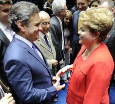 Dilma e Aécio