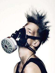 gas mask frenzi