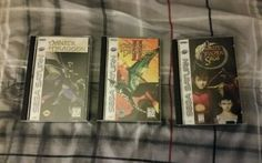 Panzer Dragoon Saga Collection US #retrogaming #HotSS  Another auction for all 3 Panzer Dragoon games. In very good condition. Auction ends in about 6 hours.