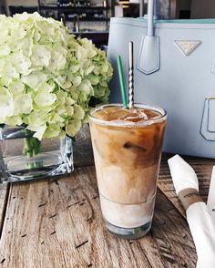 iced lavender latte    #Regram via @hkcung