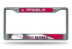 Los Angeles Angels of Anaheim Chrome License Plate Frame
