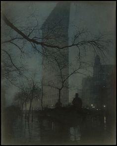 Edward J. Steichen (American (born Luxembourg), Bivange 1879–1973 West Redding, Connecticut)    The Flatiron