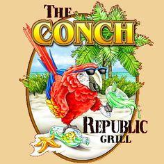 The Conch Republic Grill  16699 Gulf Blvd.  North Redington Beach, FL 33708  727-320-0536
