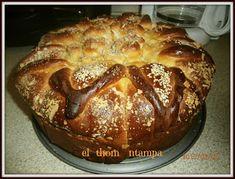ΠΛΑΘΩ ΖΥΜΑΡΑΚΙΑ ΜΕ ΤΑ ΔΥΟ ΧΕΡΑΚΙΑ ..: ΕΥΚΟΛΟ ΤΣΟΥΡΕΚΙ ΜΕ ΛΑΔΙ ΠΟΥ ΚΑΝΕΙ ΚΛΩΣΤΕΣ Diy And Crafts, French Toast, Bread, Breakfast, Sweet, Blog, Easter, Cakes, Morning Coffee