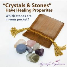 Stones can help you connect with your Angels.  Watch this video to learn how.