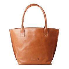 Lined Leather Tote Bags from Toscanella | Made in Italy by Pierotucci (€277) via Polyvore