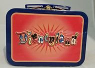 NEW! Small DISNEYLAND Character Letters Metal Lunch Box Disney Park Exclusive