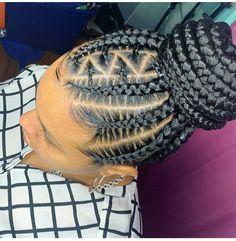 Braided Cornrow Hairstyles, Cornrow Ponytail, Black Hair Updo Hairstyles, Feed In Braids Hairstyles, Braids Hairstyles Pictures, Braided Hairstyles For Black Women, Braids For Black Hair, African Hairstyles, Trendy Hairstyles