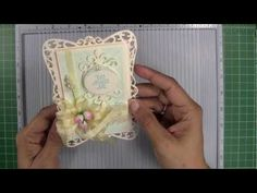 Filigree Hinged card tutorial from Becca