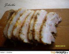 Nakládaný bůček za studena Bucky, Sushi, Pork, Bread, Ethnic Recipes, Mascarpone, Kale Stir Fry, Brot, Baking