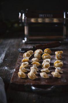 Pasta fresca Ravioli con carciofi e mozzarella di bufala affumicata-4