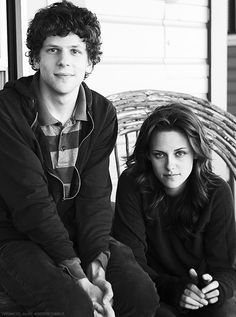 Jesse Eisenberg & Kristen Stewart, there's something really funny about this...