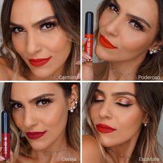 #MEUVERMELHO Batons Tracta Beauty Products, Lipstick, Lipsticks