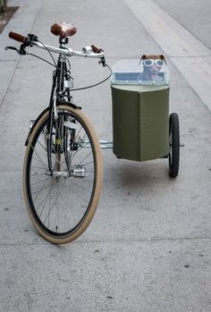 Bicycle Sidecar for Your Dog : 17 Steps (with Pictures) - Instructables Bicycle Sidecar, Used Camping Trailers, Classic Bikes, Bike Accessories, Cool Bikes, Your Dog, Dogs, Pictures, Spin