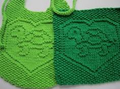 Textured bib and cloth with turtle design. Free knitting pattern. Pattern category: Baby Accessories, Dishcloths. Worsted weight yarn. 0-150 yards. Features: I-Cord, Short Rows. Intermediate difficulty level.