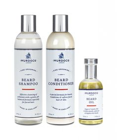 A great beard doesn't just happen. Like all important things in life, facial hair demands care and attention. That's why Murdock London has created … Beard Shampoo And Conditioner, Beauty And The Best, Great Beards, Male Grooming, Beauty News, Beard Care, Beard Oil