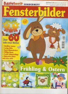 Fensterbilder - Katalin Erdődiné Sándor - Веб-альбомы Picasa Crafts To Make, Crafts For Kids, Diy Ostern, Decorative Tile, Tole Painting, Kirigami, Classroom Decor, Easter Crafts, Decoration