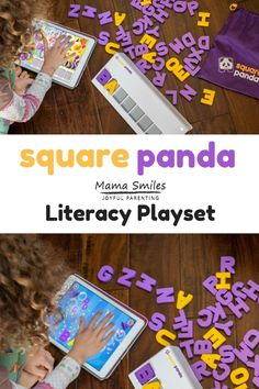 Do you have a child who is learning to read or working on spelling? Check out the Square Panda literacy program for multisensory personalized learning. #literacy #ece #learntoread #squarepanda #ad