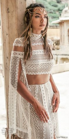 Unique Ideas about Nontraditional Wedding Dress. 16 Unique Ideas about Nontraditional Wedding Dress - An absolutely beautiful knitted boho wedding Unique Ideas about Nontraditional Wedding Dress - An absolutely beautiful knitted boho wedding dress Mode Hippie, Mode Boho, Hippie Chic, Hippie Style, Hippie Hats, Trendy Dresses, Casual Dresses, Casual Outfits, Unique Dresses