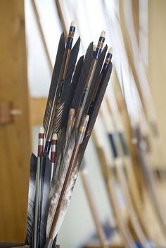 Kyudo arrows