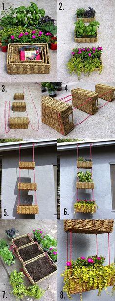 Idea for vertical gardening