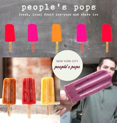 gourmet popsicles for a summer party
