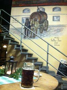 Zwergla lager at Brauerei Fassla - Bamberg, Germany - November 2012