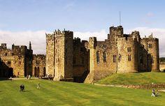 Castelo de Alnwick , Norte da Inglaterra