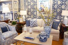New on Facebook  25 photos of the newest vignettes in our McLean shop