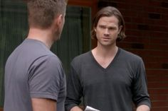 """Sam and Dean from 10X05 (""""Fan Fiction"""")"""