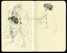 Dadu Shin sketches