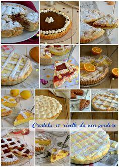 Crostata: 15 ricette da non perdere, classiche e non Devils Food, Waffles, Pie, Breakfast, Desserts, Torte, Morning Coffee, Tailgate Desserts, Cake