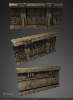 Temple Trim Piece 3D by ZackF on DeviantArt