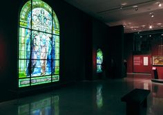 G i n a F u e n t e s W a l k e r : C o m m e r c i a l : museums and galleries. Louis C. Tiffany and the Art of Devotion. Photographed 2012. Museum of Biblical Art. Exhibition Design: Dean Ebben