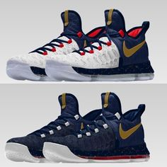 kd 9 id white gold black nike sneakers shoes pinterest white gold gold and black