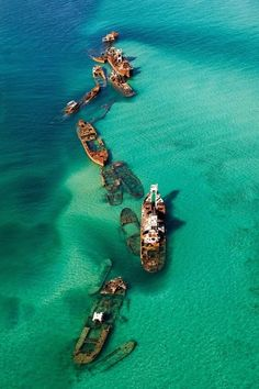 バミューダトライアングルの沈没船